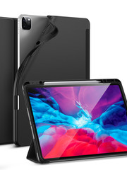 ESR Tablethoes - iPad Pro 12.9 2020 - Rebound Pencil - Zwart