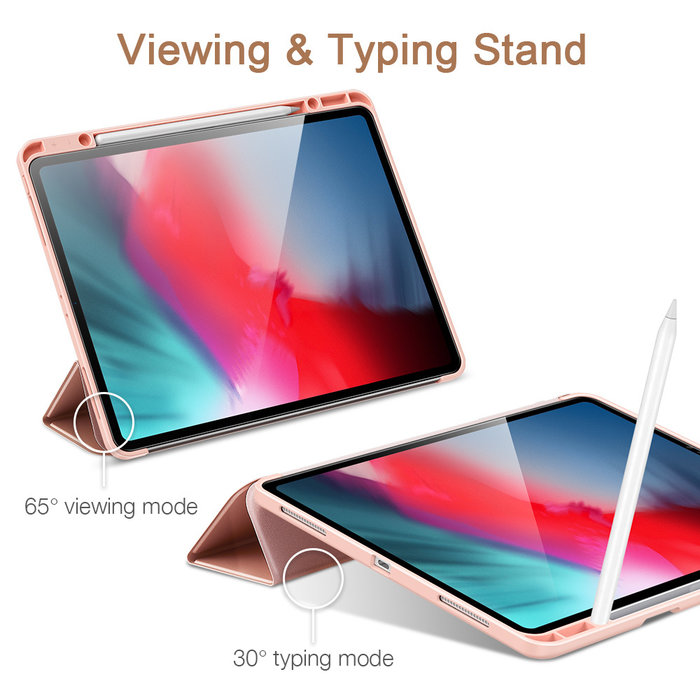 ESR Tablethoes - iPad Pro 12.9 2020 - Rebound Pencil - Rose Gold