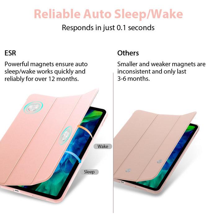 ESR Tablethoes - iPad Pro 11 2020 - Rebound Slim - Rose Gold