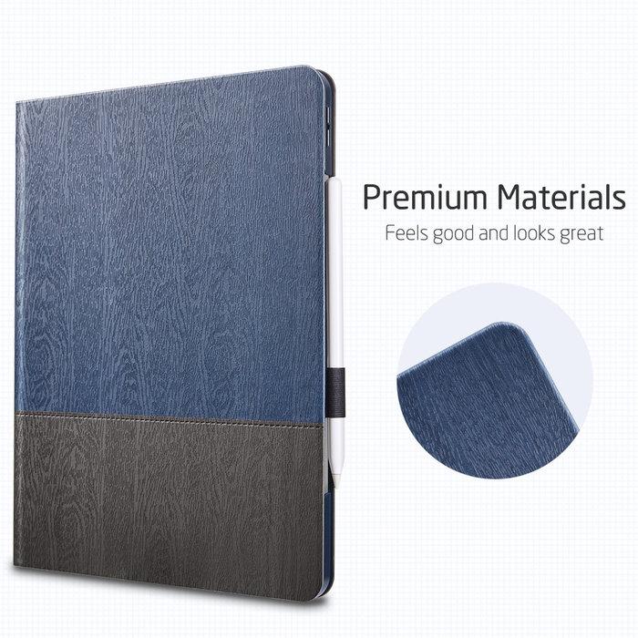 ESR Tablethoes - iPad Pro 12.9 2020 - Urban Premium - Blauw