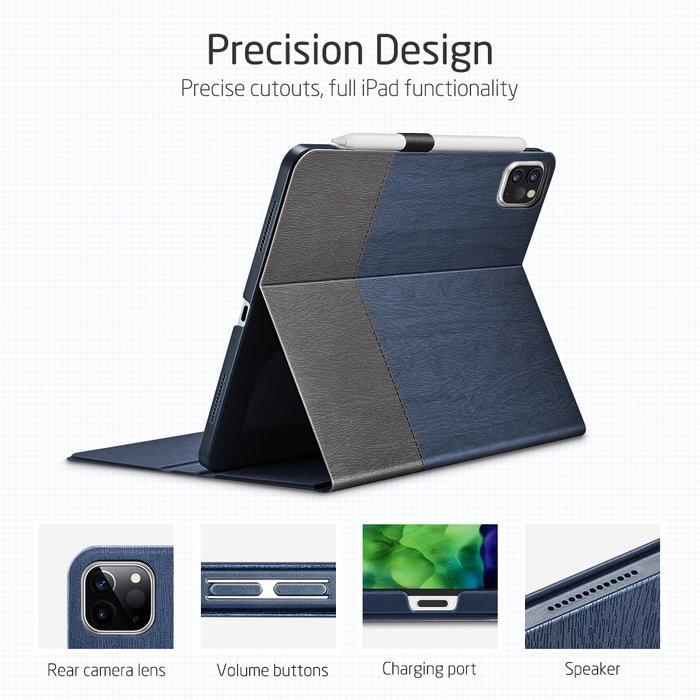 ESR Tablethoes - iPad Pro 11 2020 - Urban Premium - Blauw