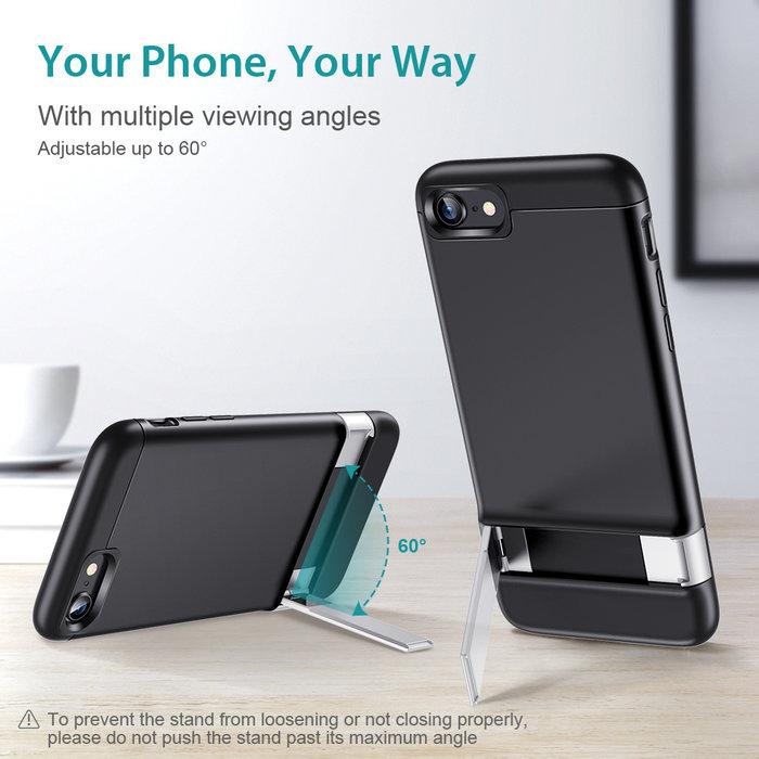 ESR Telefoonhoesje - iPhone SE 2020/8/7 - Air Shield Boost - Zwart