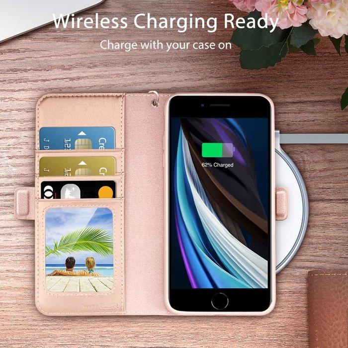 ESR Telefoonhoesje - iPhone SE 2020/8/7 - Simplicity - Rose Gold