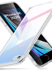 ESR Telefoonhoesje - iPhone SE 2020/8/7 - Ice Shield - Rood & Blauw