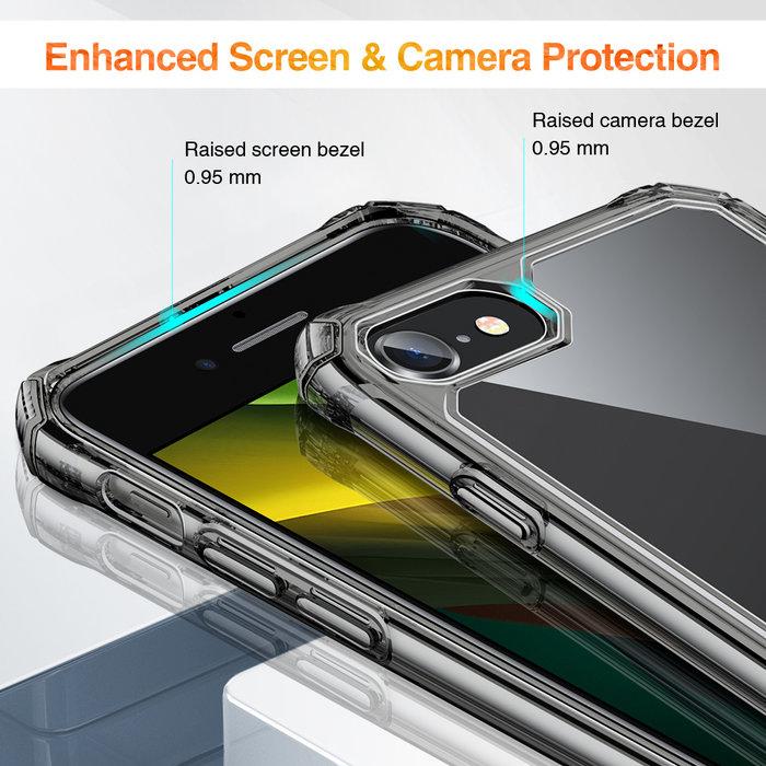 ESR Telefoonhoesje - iPhone SE 2020/8/7 - Air Armor - Donker Transparant
