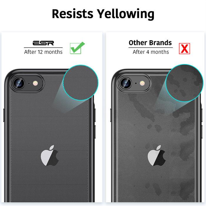 ESR Telefoonhoesje - iPhone SE 2020/8/7 - Essential Crown - Zwart