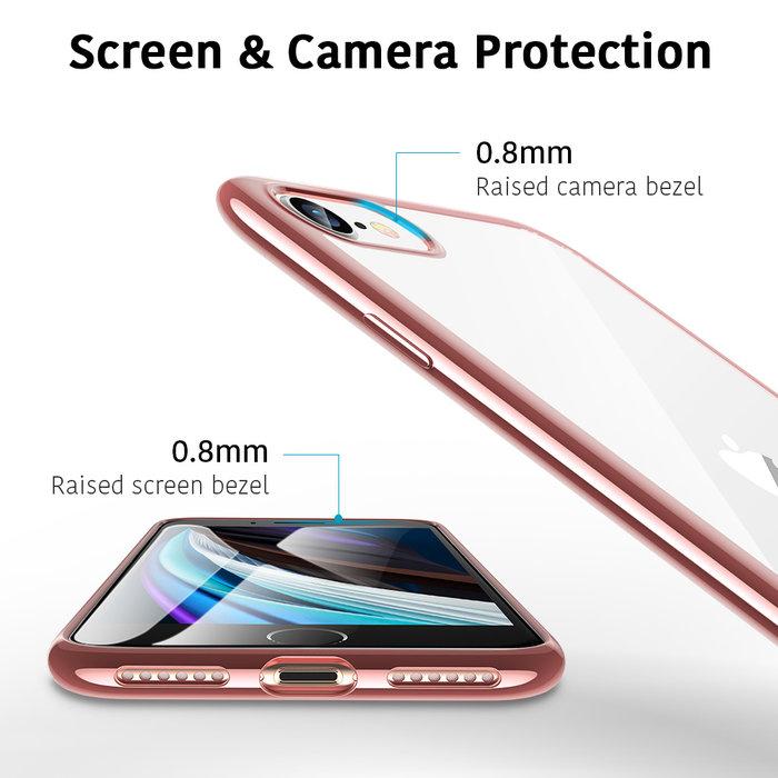 ESR Telefoonhoesje - iPhone SE 2020/8/7 - Essential Crown - Rose Gold