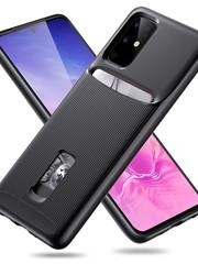 ESR telefoonhoesje - Samsung Galaxy S20 PLUS - Armor Portemonnee - Zwart