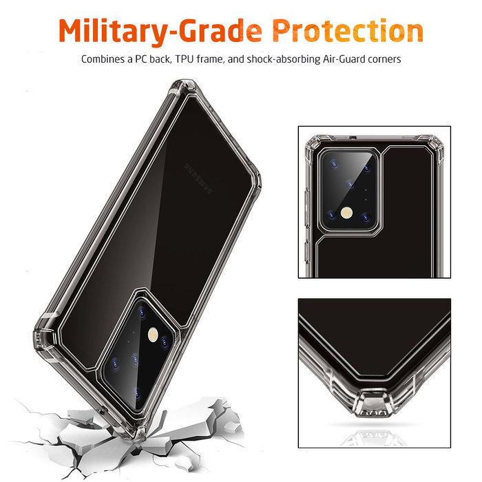ESR telefoonhoesje - Samsung Galaxy S20 Ultra - Air Armor – Donker transparant