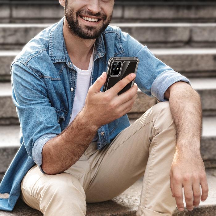 ESR telefoonhoesje - Samsung Galaxy S20 Plus - Air Armor – Donker transparant