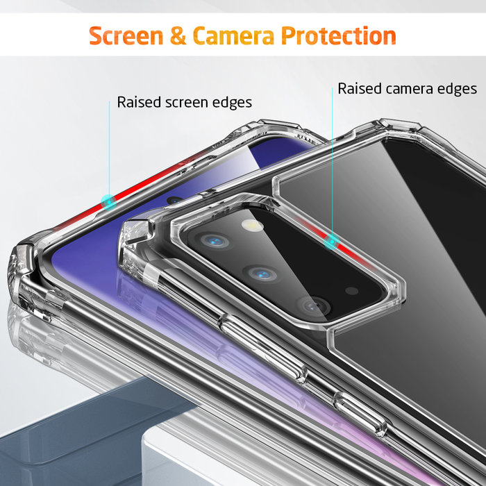 ESR telefoonhoesje - Samsung Galaxy S20 - Air Armor – Transparant