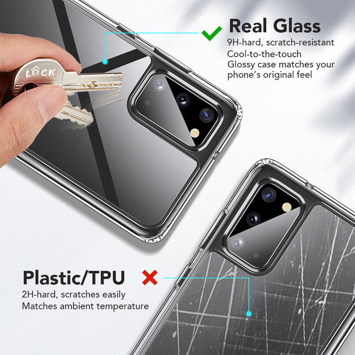 ESR telefoonhoesje - Samsung Galaxy S20 - Ice Shield – Transparant