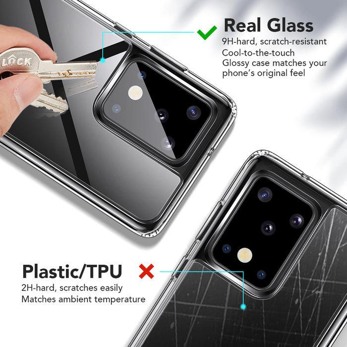 ESR telefoonhoesje - Samsung Galaxy S20 Ultra - Ice Shield – Transparant