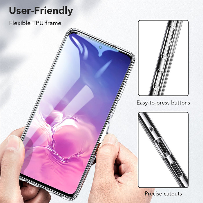 ESR telefoonhoesje - Samsung Galaxy S20 Plus - Ice Shield – Transparant