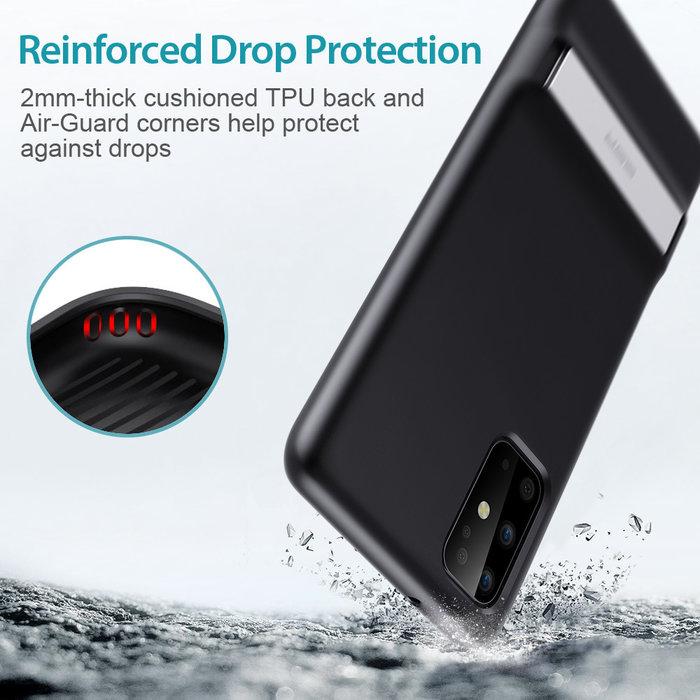 ESR telefoonhoesje - Samsung Galaxy S20 Plus - Air Shield Boost - Zwart & met standaard