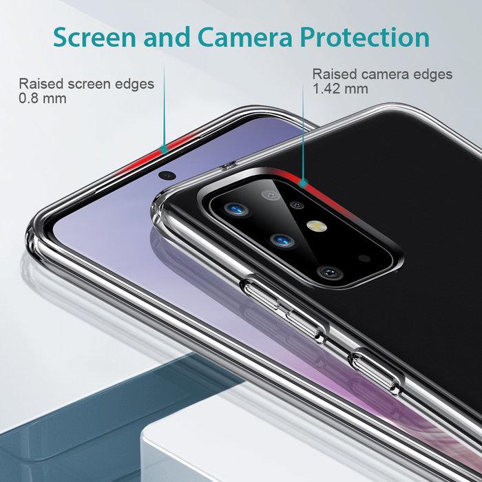 ESR telefoonhoesje - Samsung S20 - Air Shield Boost - Transparant & met standaard