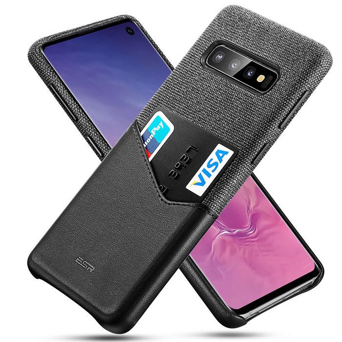 ESR telefoonhoesje - Samsung Galaxy S10 - Metro Portemonnee - Zwart