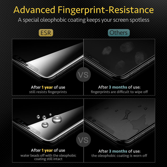 ESR  Tempered Glass - iPhone 11 Pro Max / XS Max