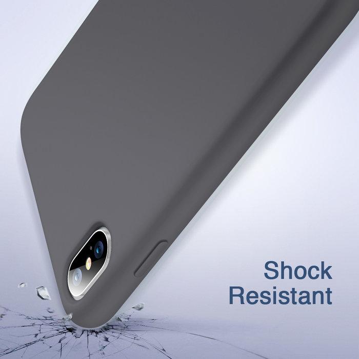 ESR Telefoonhoesje - Apple iPhone XS Max - Yippee silicone - Zwart