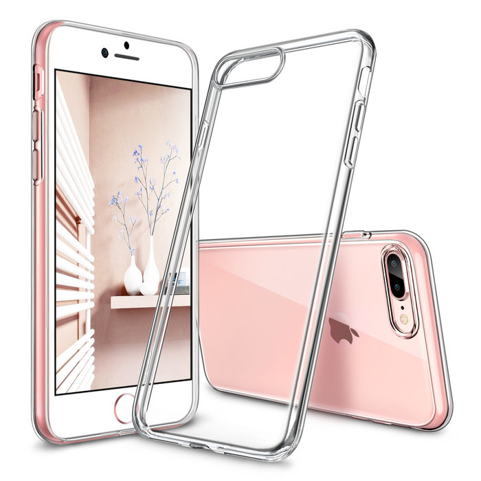 ESR Telefoonhoesje - Apple iPhone 7 Plus / 8 Plus - Essential Zero - Transparant