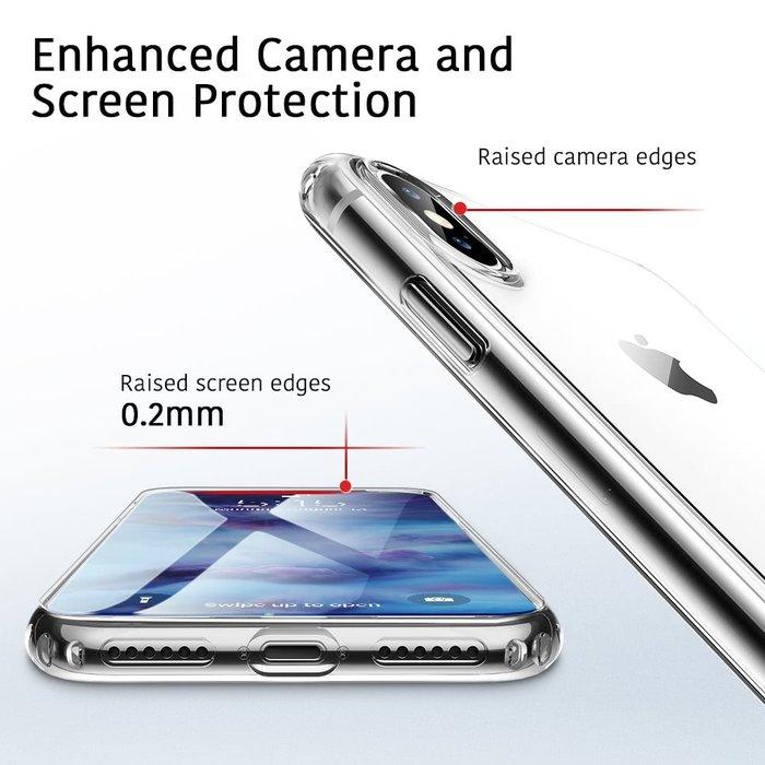 ESR Telefoonhoesje - Apple iPhone X/XS - Essential Zero - Transparant