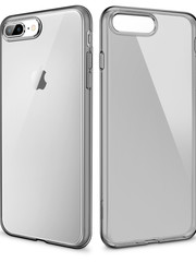 ESR Telefoonhoesje - Apple iPhone 7 Plus / 8 Plus - Essential Zero - Donker Transparant