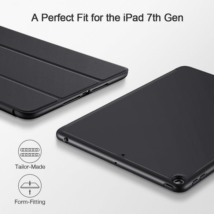 ESR Tablethoes - iPad 10.2 2019 - Rebound Pencil - Zwart