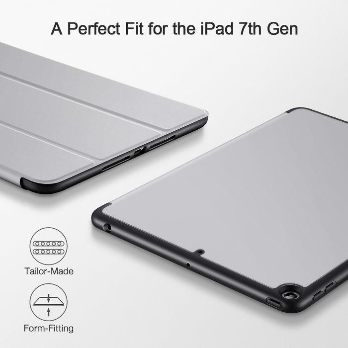 ESR Tablethoes - iPad Pro 10.2 2019 - Rebound Pencil - Zilver