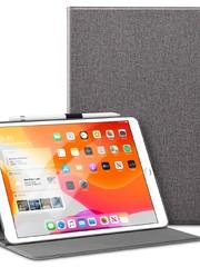 ESR Tablethoes - iPad 10.2 2019 - Simplicity Canvas - Grijs