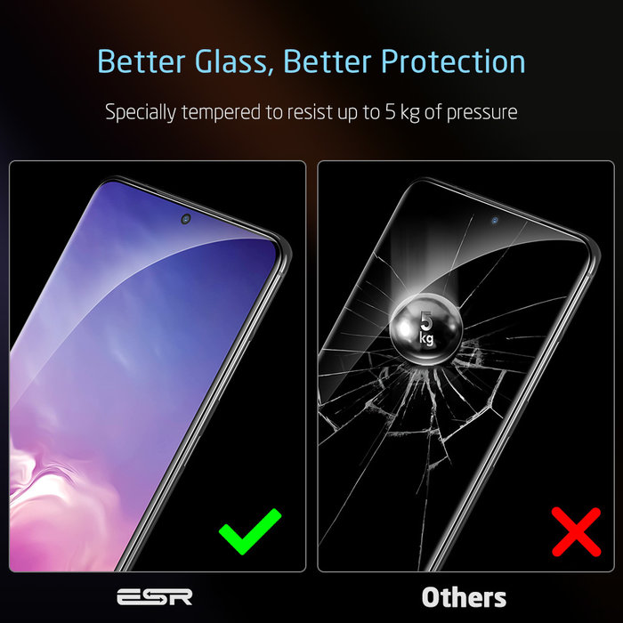 ESR Screen Shield 3D - Samsung Galaxy S20 - 1 Pack