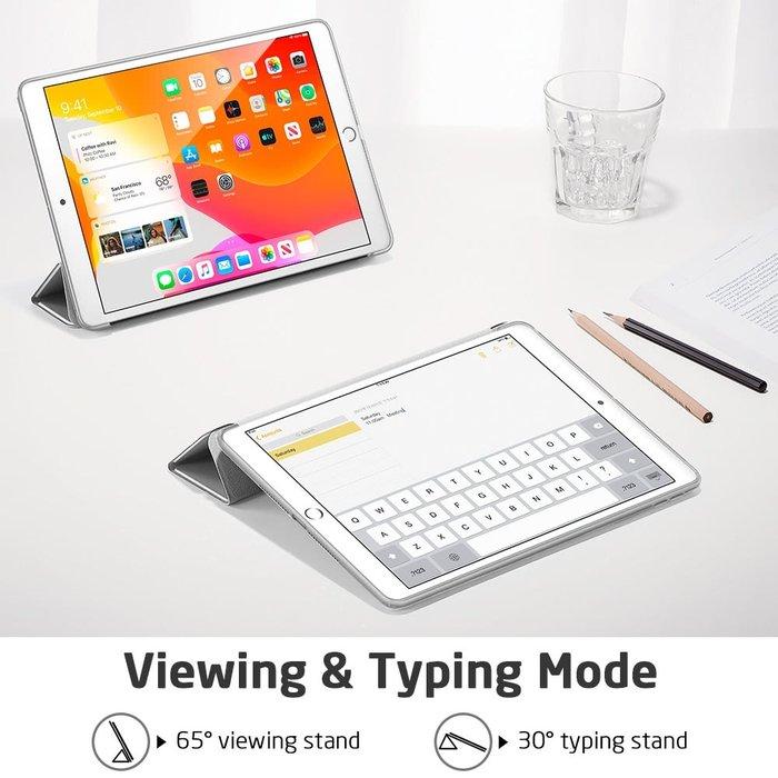 ESR Tablethoes - iPad Pro 10.2 2019 - Rebound - Silver Grey