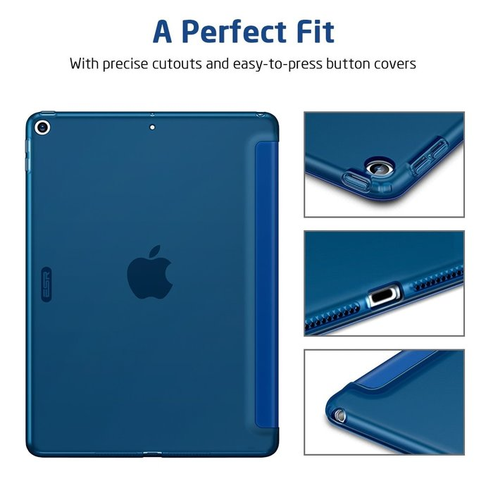 ESR Tablethoes - iPad Pro 10.2 2019 - Rebound - Navy Blue