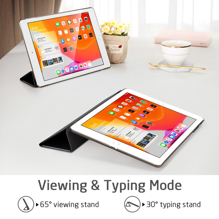 ESR Tablethoes - iPad Pro 10.2 2019 - Yippee Color - Zwart