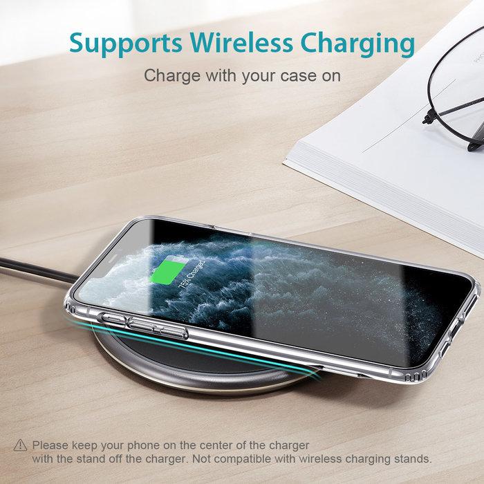 ESR - telefoonhoesje - Apple  iPhone 11 Pro  - Air Shield Boost -  Transparant & met standaard