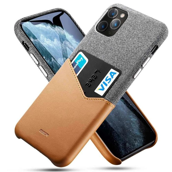 ESR - telefoonhoesje - Apple iPhone 11 Pro - ESR Metro Wallet – Bruin