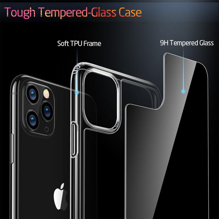 ESR - telefoonhoesje - Apple iPhone 11 Pro Max - Ice Shield – Zwart