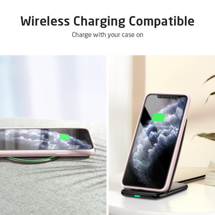 ESR - telefoonhoesje - Apple  iPhone 11 Pro -  Yippee siliconen - Roze
