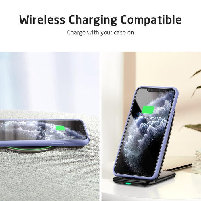 ESR - telefoonhoesje - Apple  iPhone 11 Pro -  Yippee siliconen - Paars