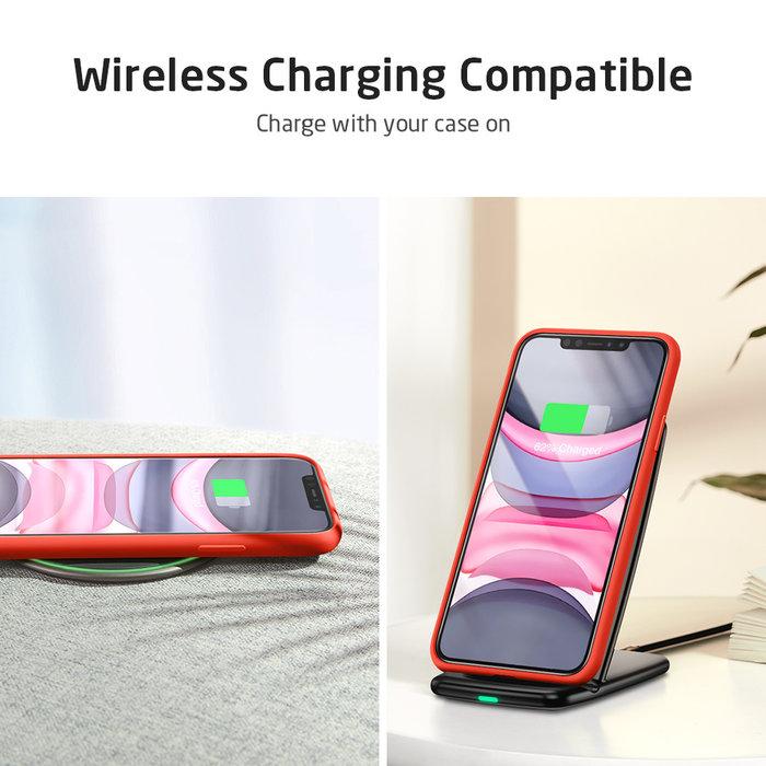 ESR - telefoonhoesje - Apple iPhone 11 - Yippee siliconen - Rood