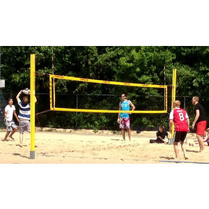 Beach volleybalveld per uur