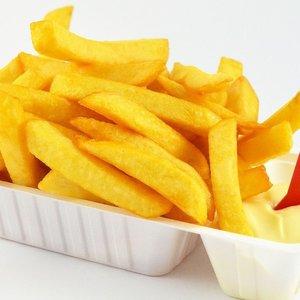Huisgemaakte friet normaal per stuk