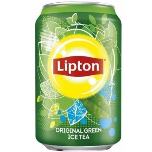 Blikje Ice Tea Green per stuk