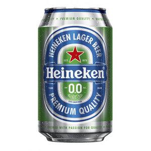 Blikje Heineken 0.0 per stuk