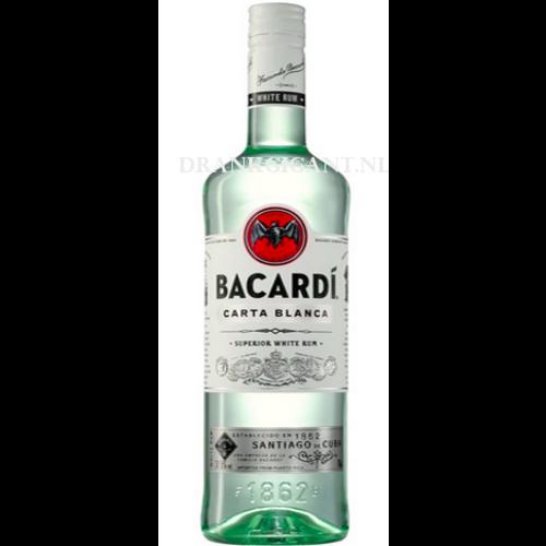 Bacardi rum per glas