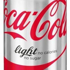 Blikje Coca Cola light per stuk