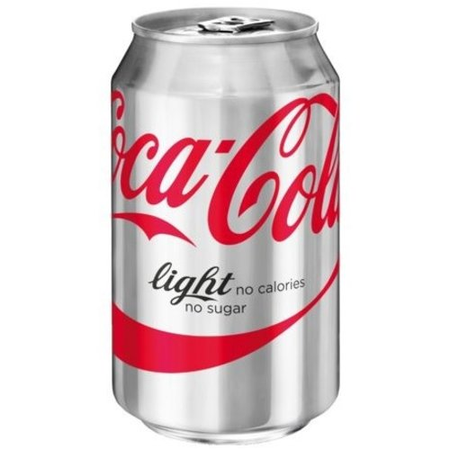 Blikje Coca Cola light per stuk