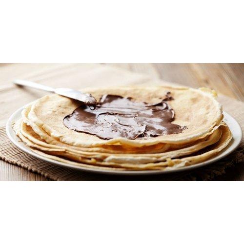 Pannenkoek met Nutella