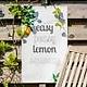 Leuke foto's of teksten op een doek voor in je tuin