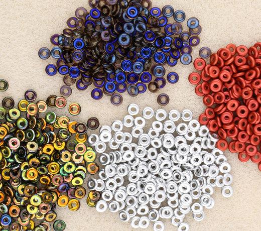 O-Beads - Eine erstaunliche Ergänzung zu Rocaille Glasperlen!