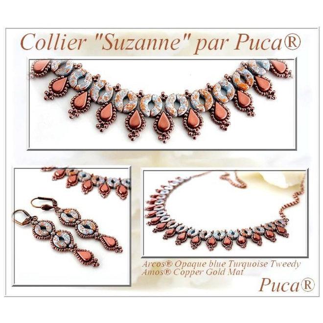 Arcos® Par Puca® - Opaque Coral Red Bronze